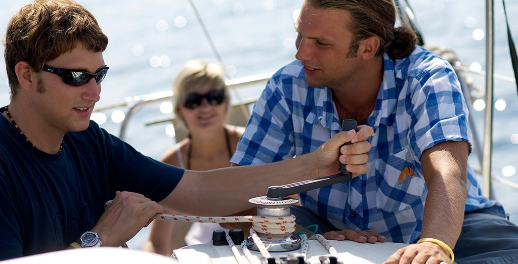 From a welcome pack of provisions, to a lead yacht with experts on board