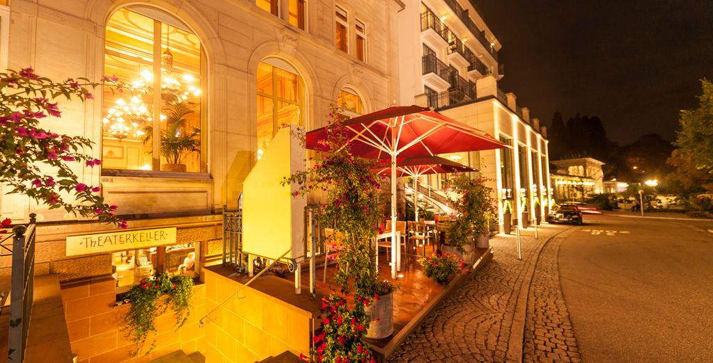 Wind down for the evening with a drink on the terrace