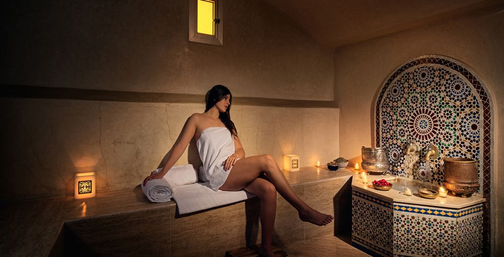 Cleanse yourself in the traditional hammam