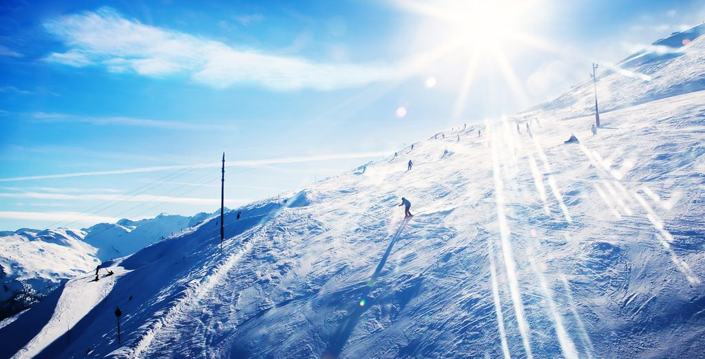 Revel in the dramatic slopes of Soldeu