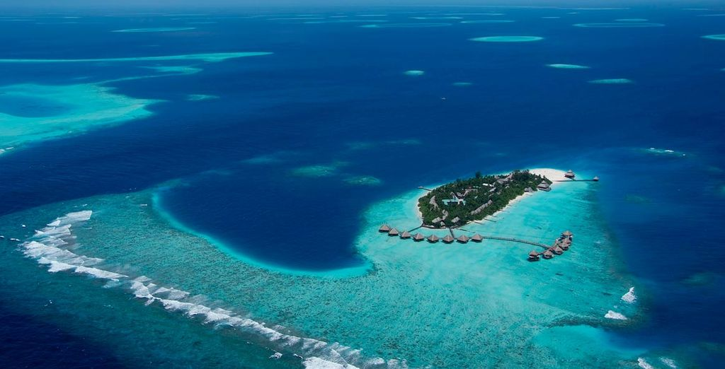 Of this tiny island in the Maldives