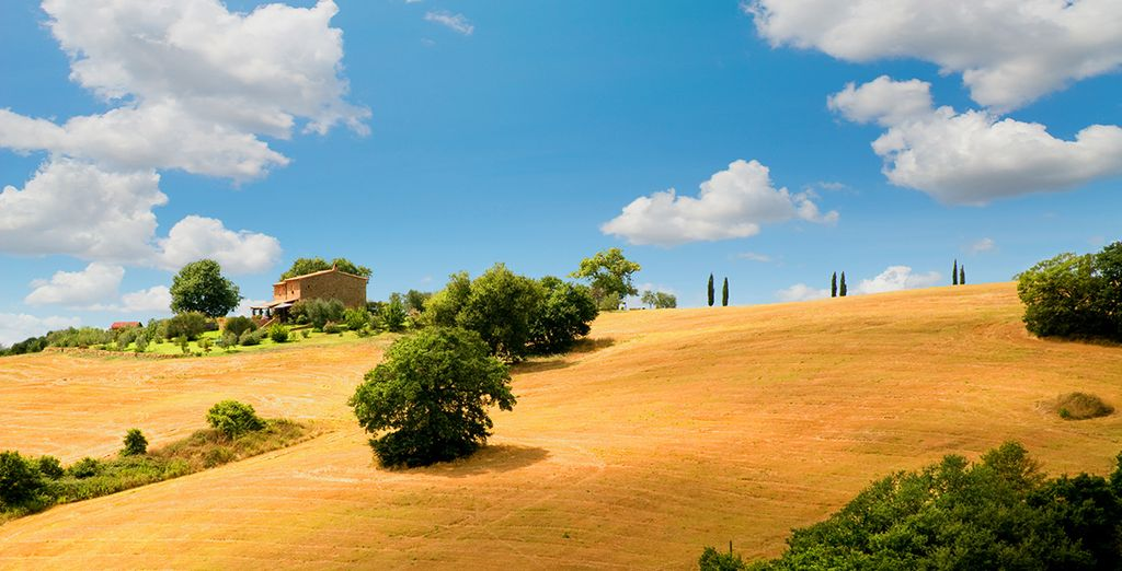 When you are ready, Tuscany is waiting...