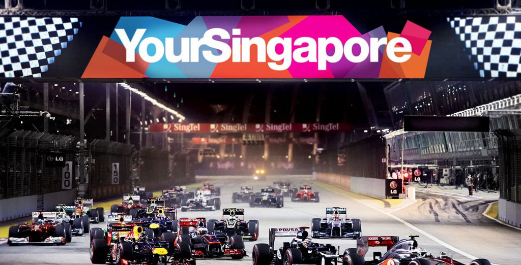 Experience the thrills of the Singapore Grand Prix