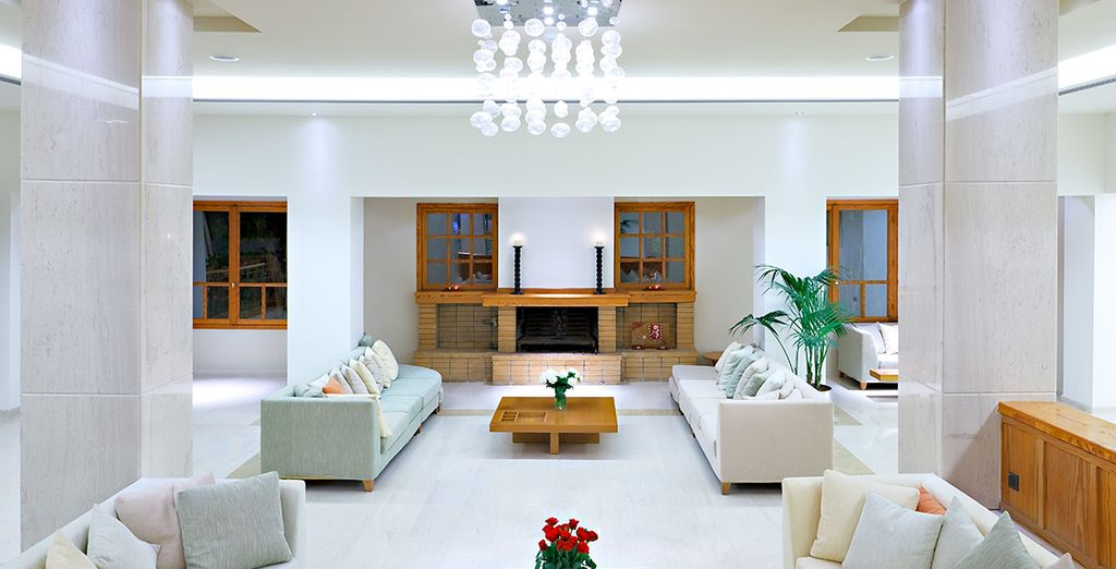 With smart modern interiors