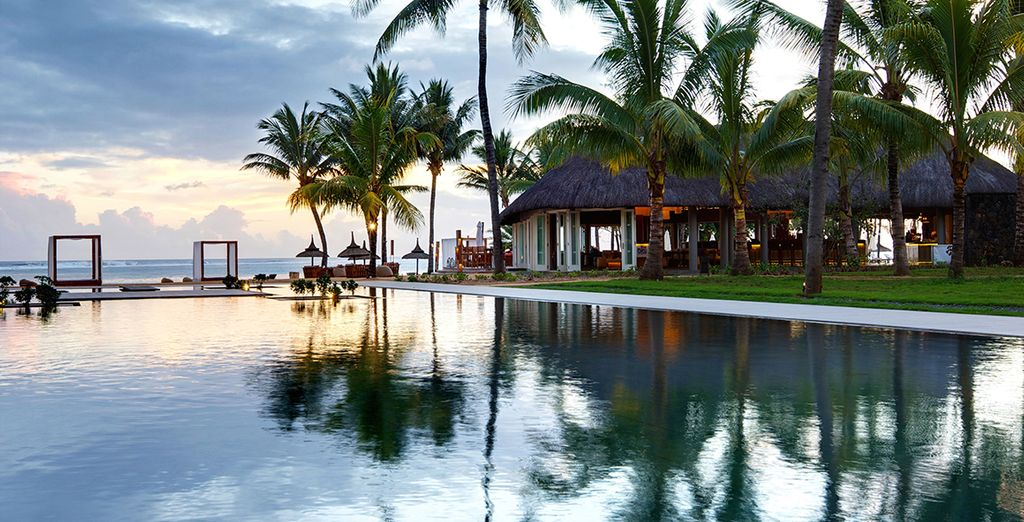 Then move onto the Outrigger Mauritius Beach Resort for 7 or 11 nights