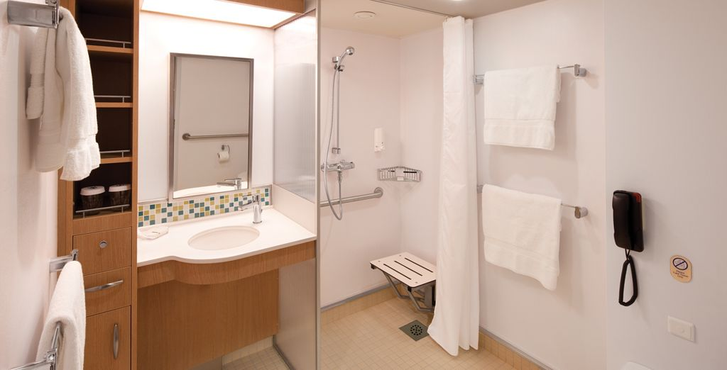 Each complete with luxury amenities