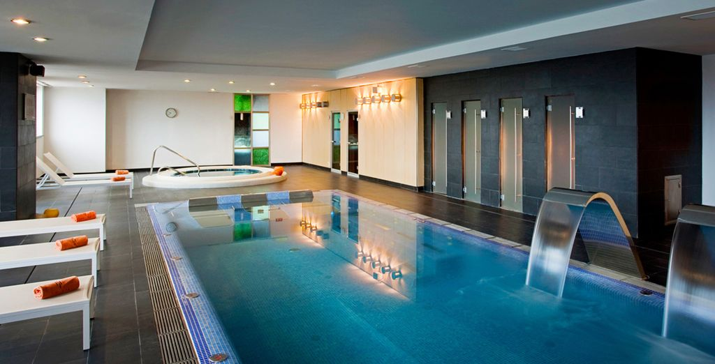 Including a superb spa with an indoor pool and Jacuzzi