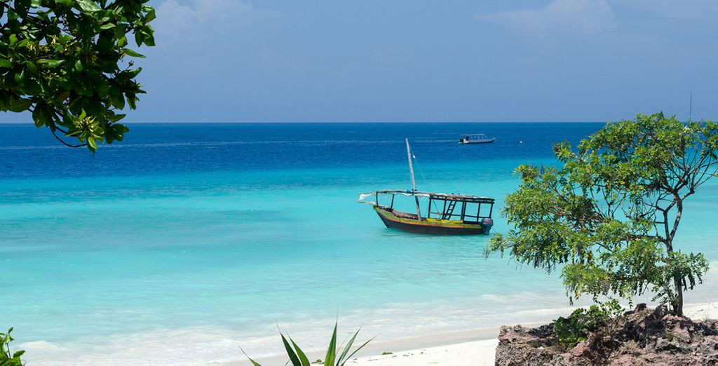 Then, visit Zanzibar and experience the pristine beaches of this wonderful area