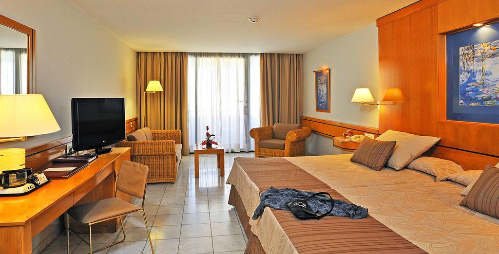 Rooms offer supreme comfort