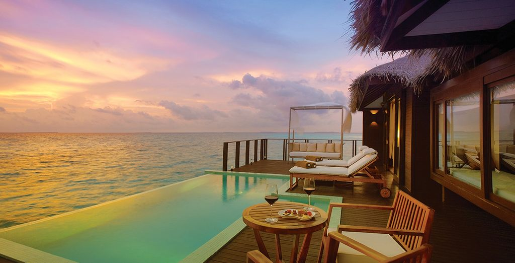 With a stay at this amazing resort - Zitahli Resorts & Spa 5* Maldives