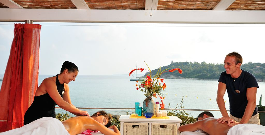 Unwind with a sensual massage to the sound of the ocean
