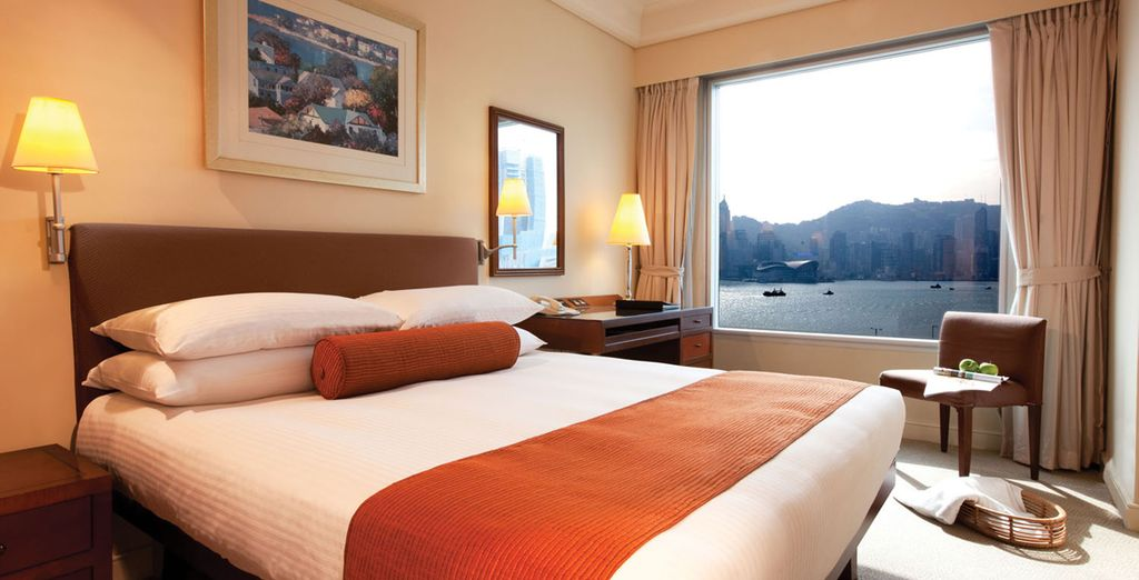And enjoy an upgrade to a Deluxe Room