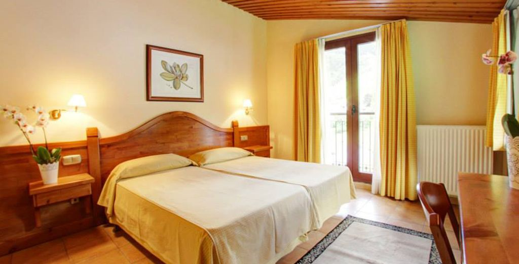 Our members will stay in a newly renovated, bright double room