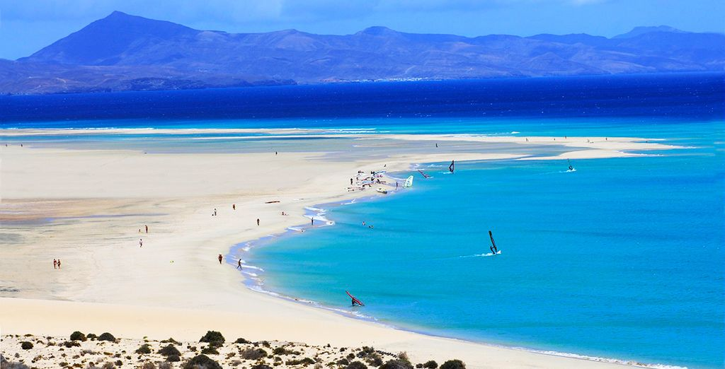 And sun yourself on the gorgeous beaches of Fuerteventura
