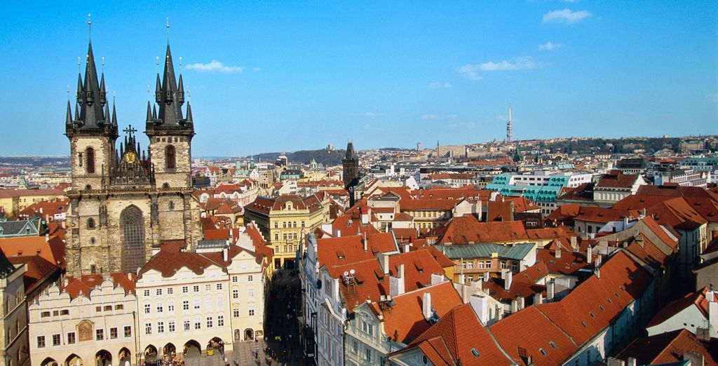 Revel in the magical city of Prague