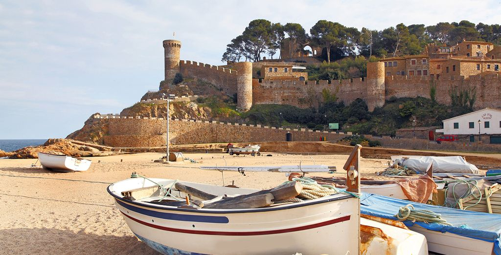 Such as nearby Lloret Castle