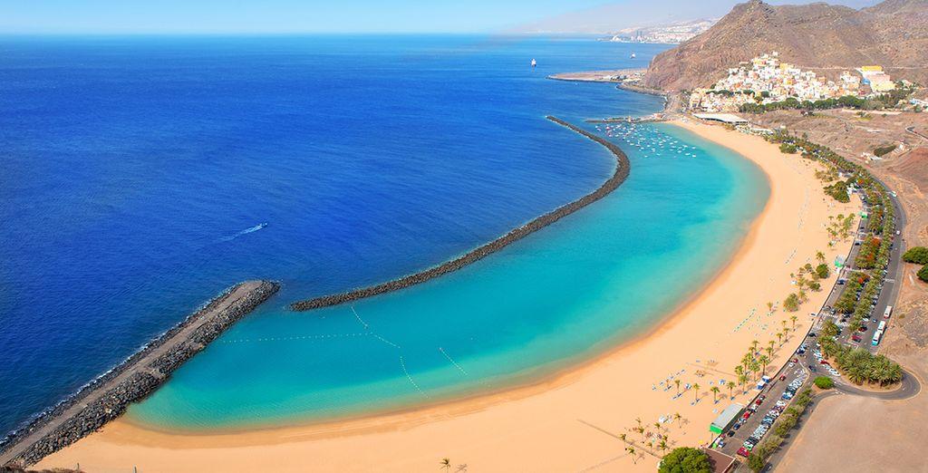 In sunny Tenerife