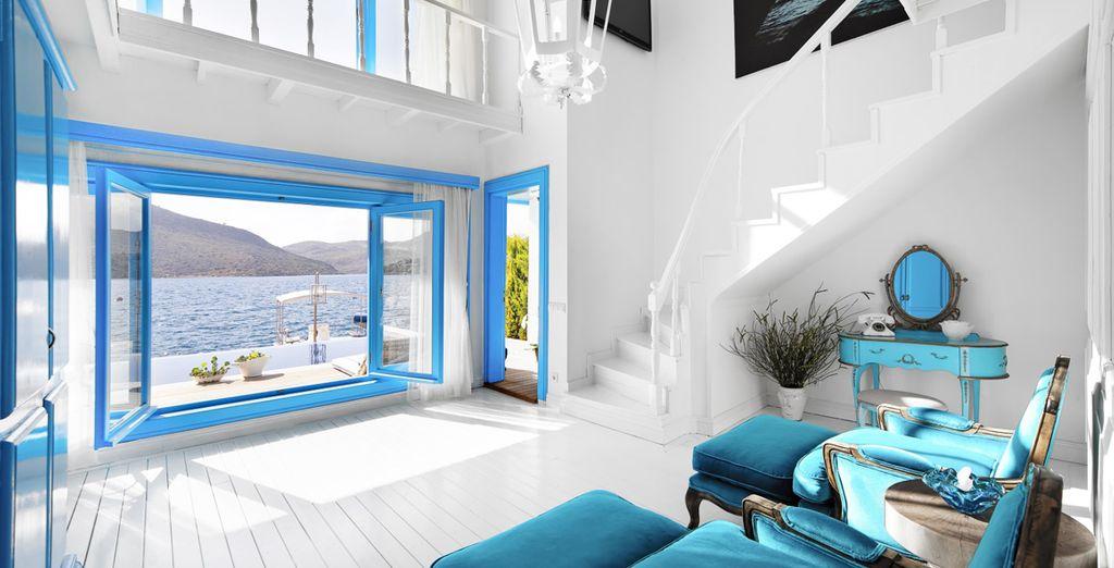 And the breathtaking Signature Duplex Suite