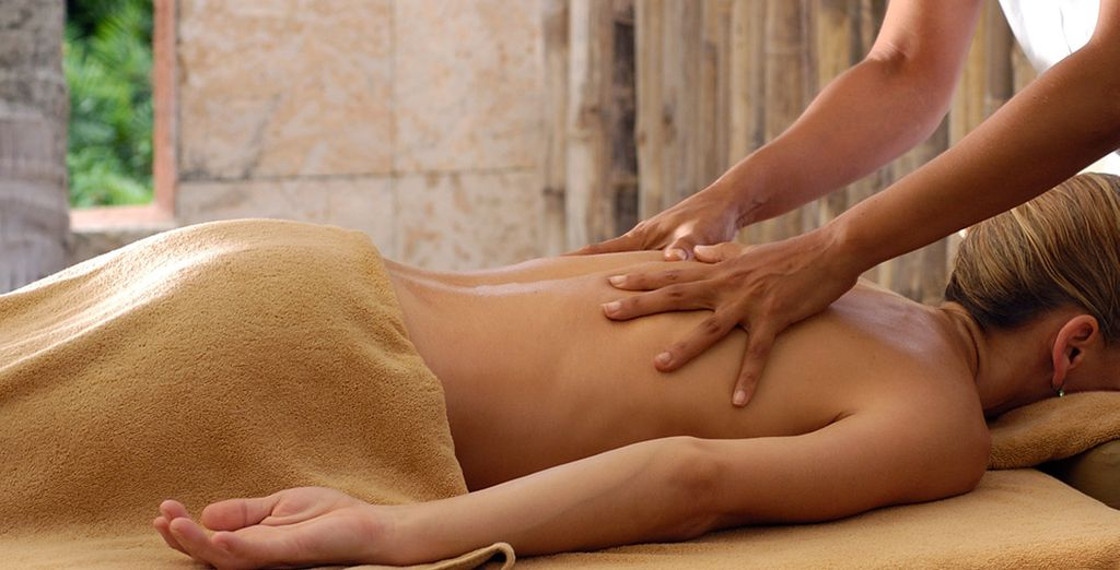 Indulge in a well-deserved massage