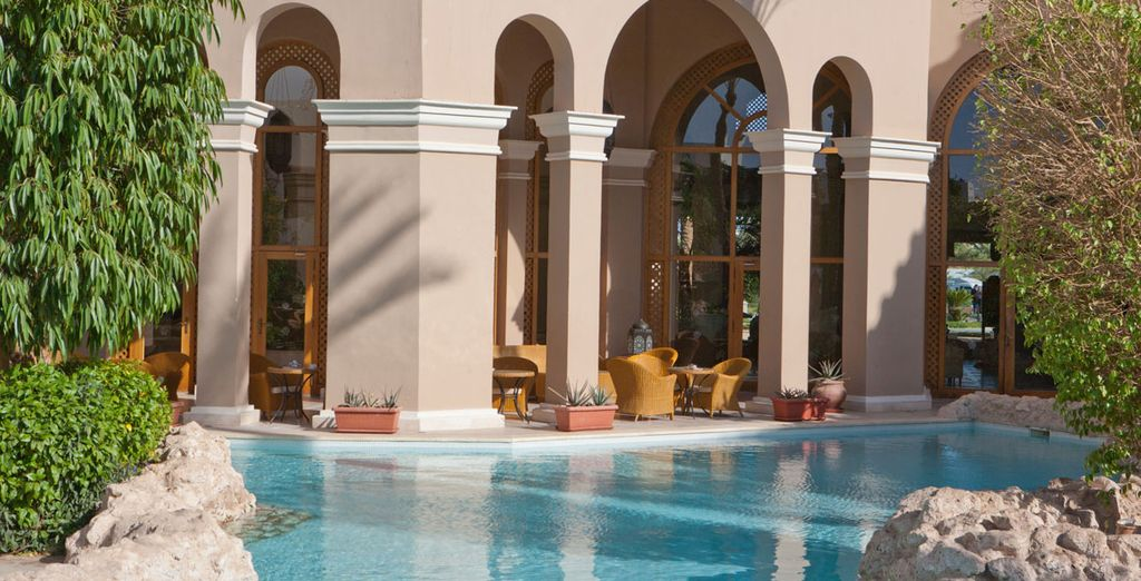 Relax by one of the pools...