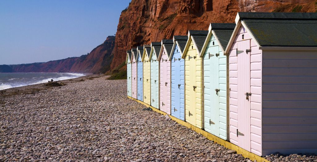 Then head out and explore Sidmouth's charming pebble beaches