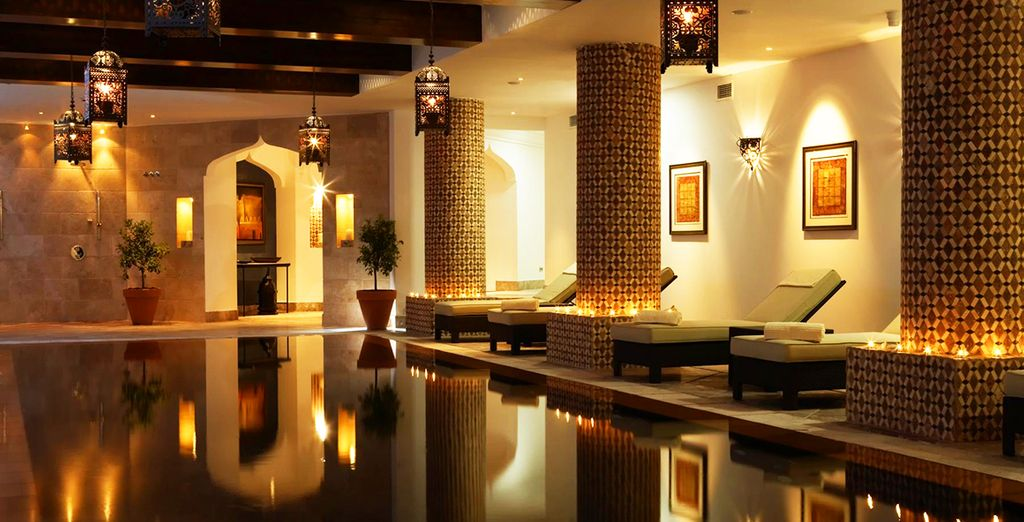 Take a dip in the fabulous indoor pool