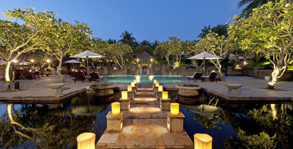 Lies the Pan Pacific Nirwana Bali Resort