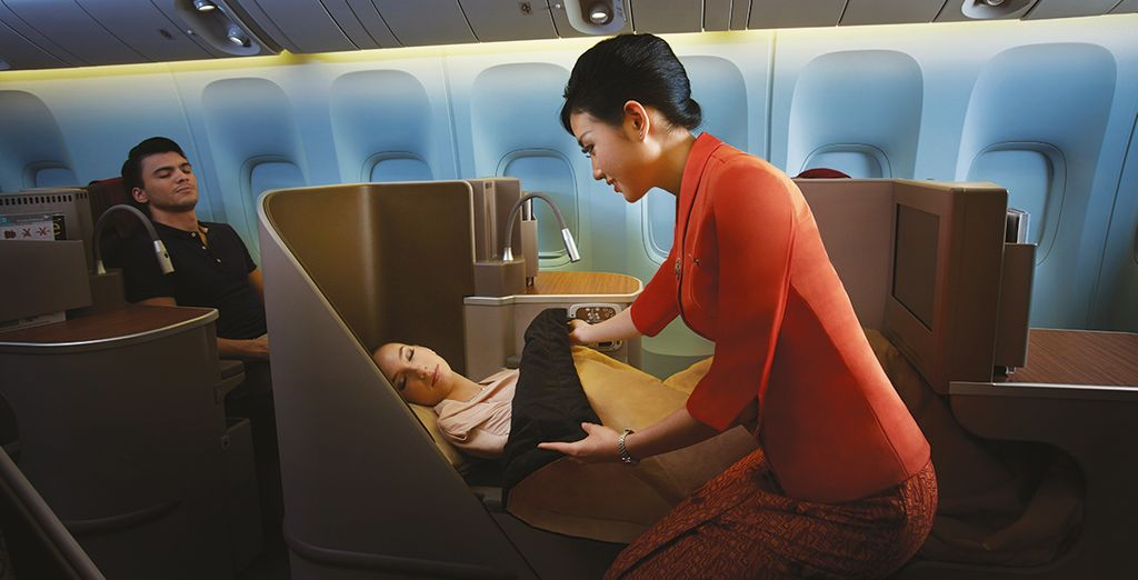 Business class is available on most dates