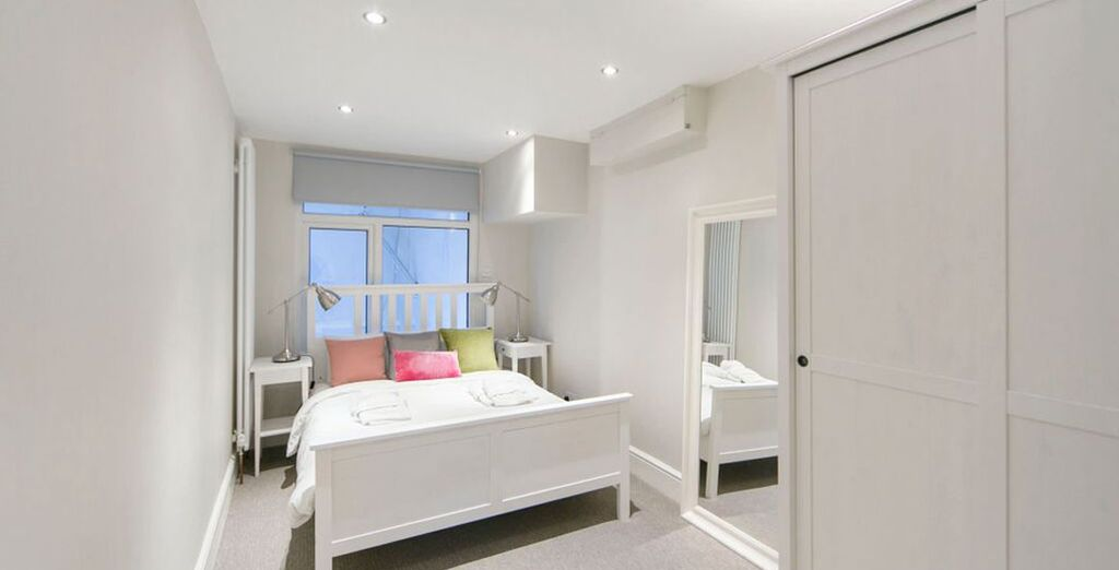Apartment 2: All with double beds