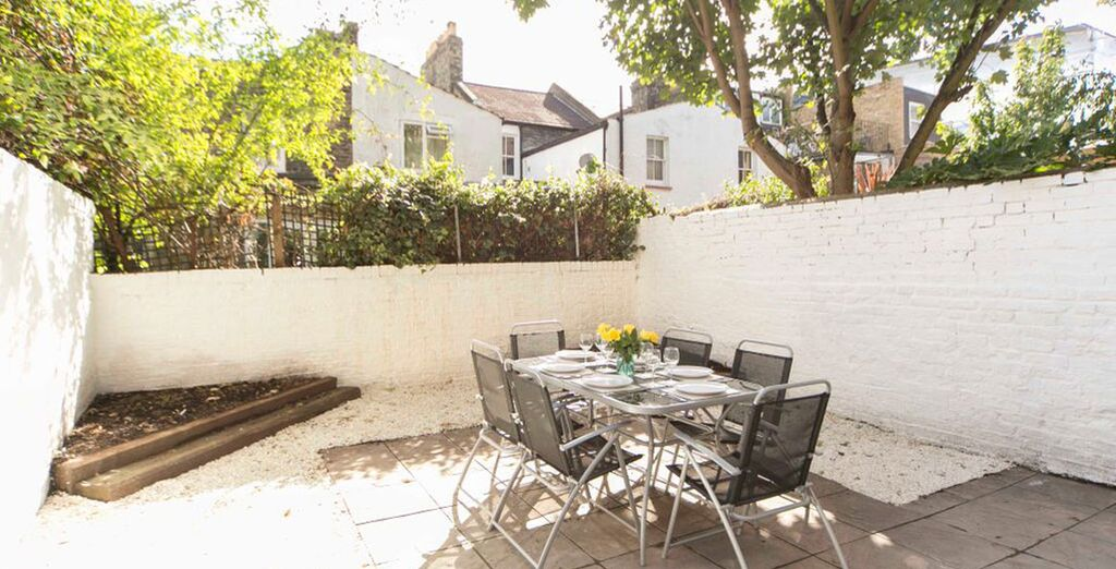 Apartment 2: And terrace - ideal for alfresco dining!