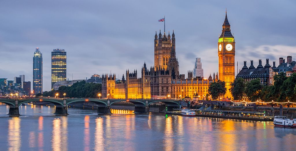Come and let the excitement of London whisk you away!