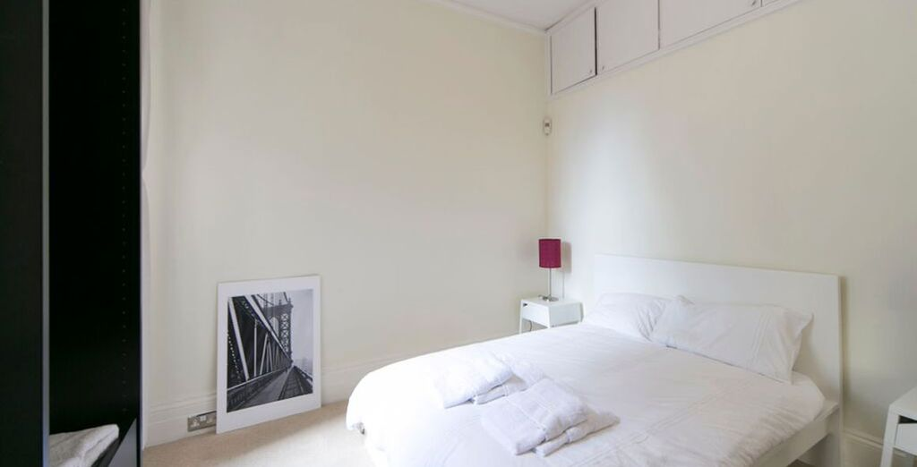 Apartment 1: Light and elegant - with high ceilings and modern decor throughout