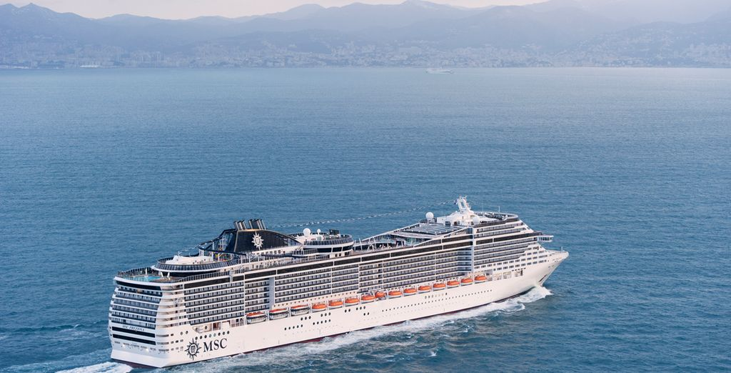 A high end voyage across the Mediterranean
