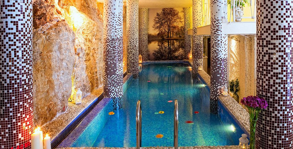 Or unwind at the hotel's spa