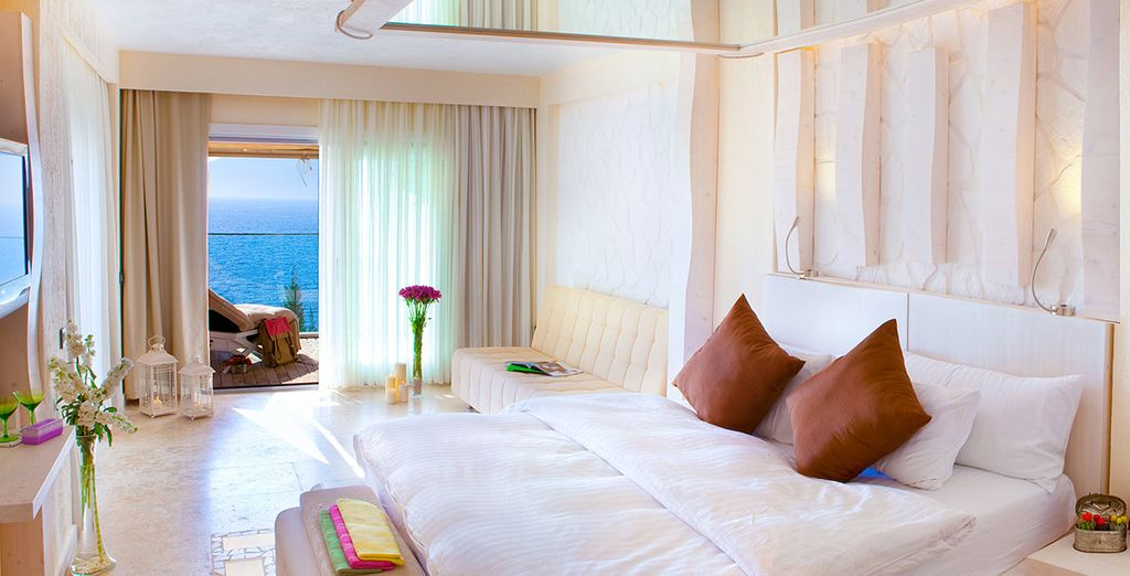 Stay in this gorgeous Sea View Room