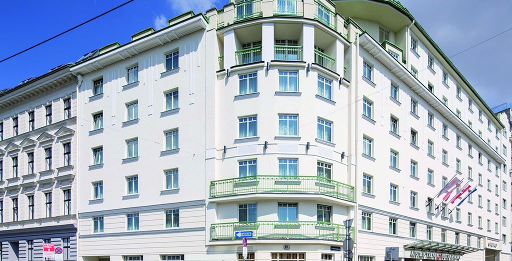 Stay at this centrally located hotel