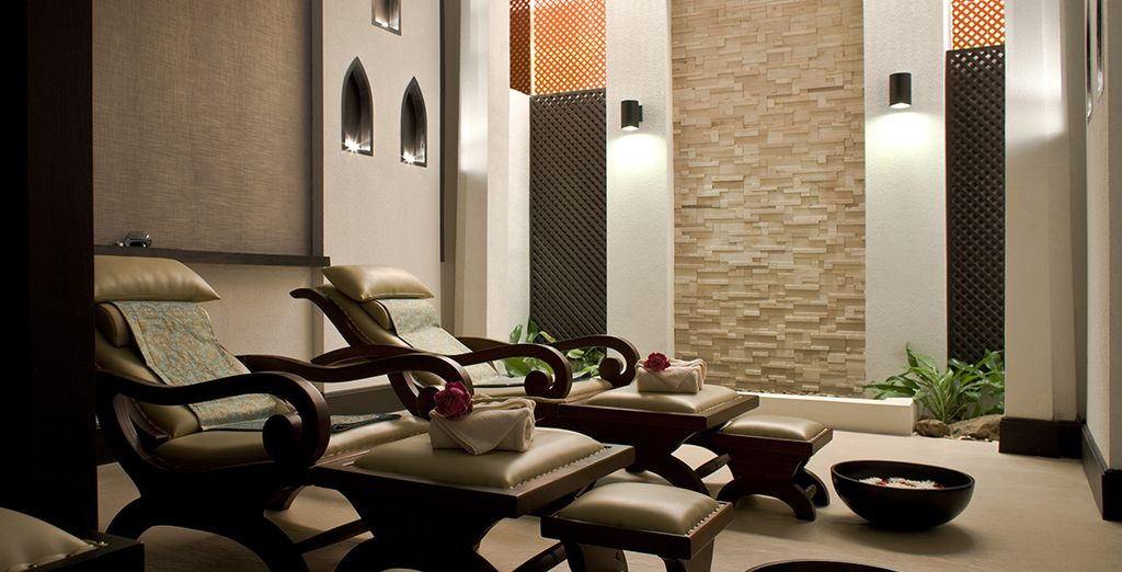 Our offer also includes a 15% spa discount