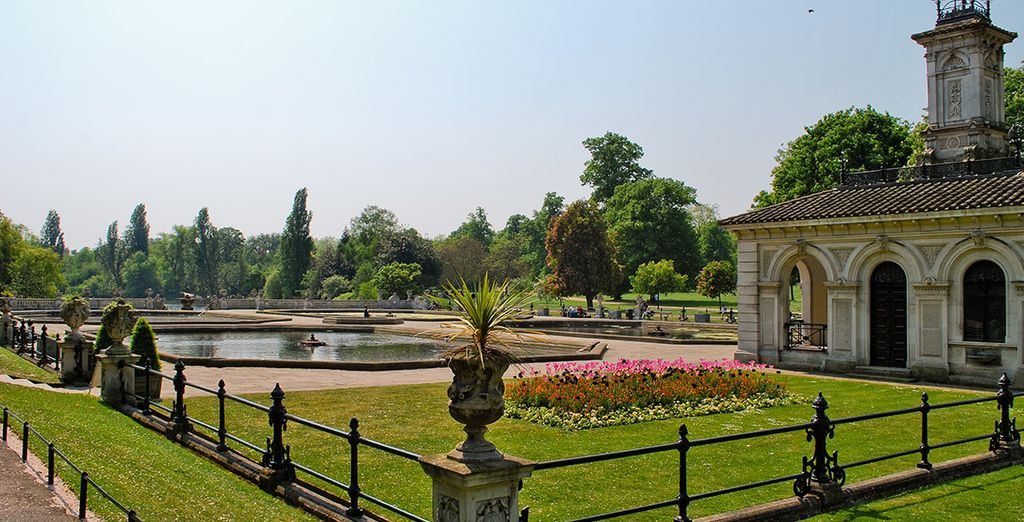 Including the summery sights of Hyde Park