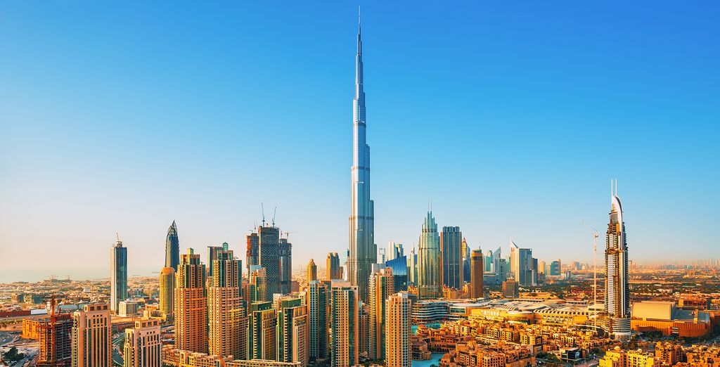 Or add one of our optional excursions such as to Burj Khalifa