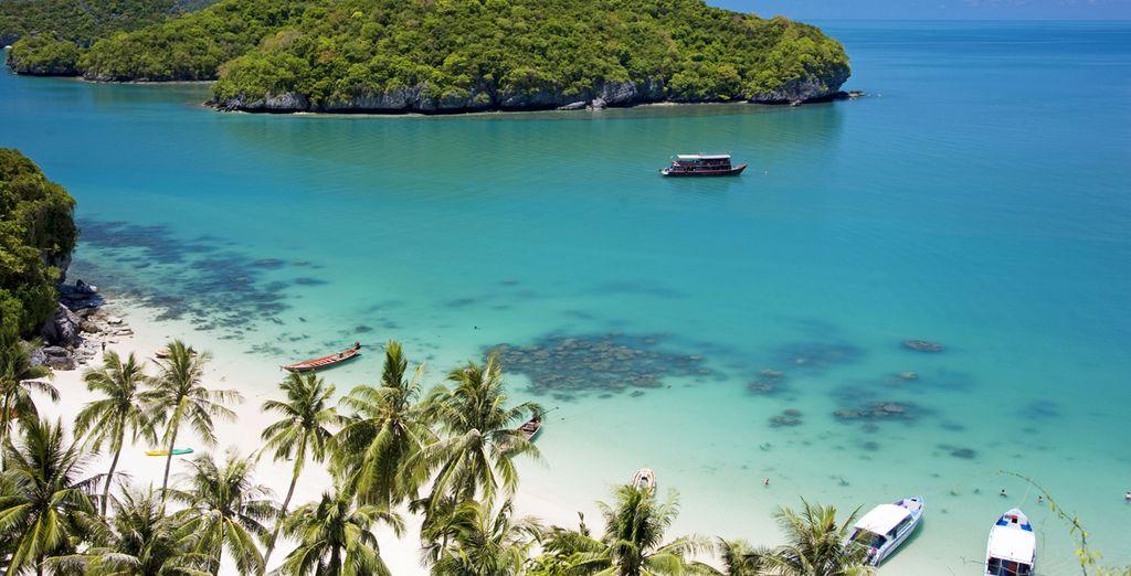 Kick back on Koh Samui's famed beaches