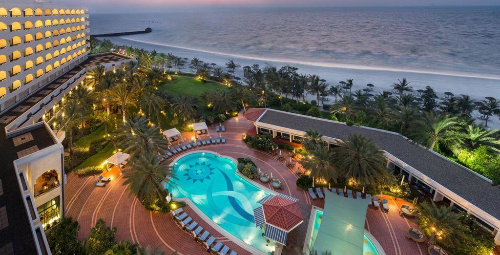 All at this fantastic 5* Ajman hotel