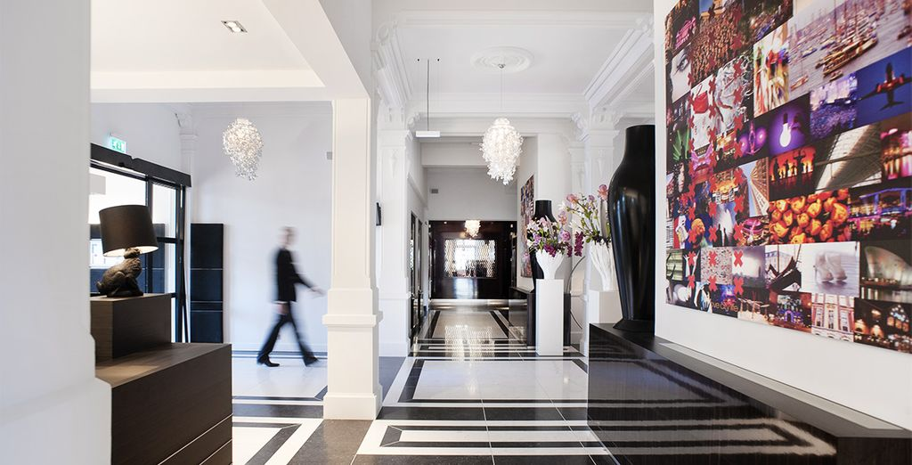 Discover a sleek design hotel