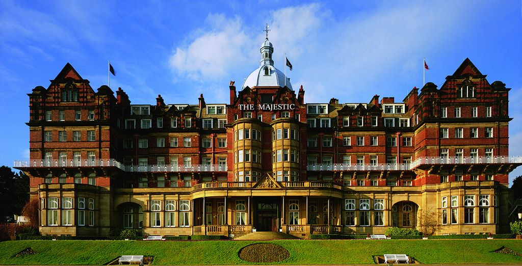 4* Majestic Hotel, set in 8 acres of landscaped gardens
