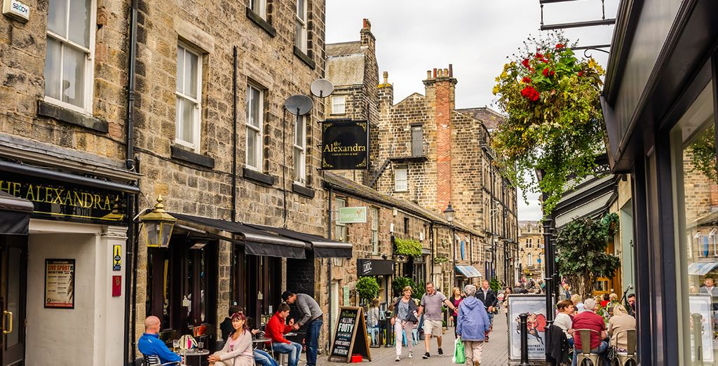 Located in the heart of spa town Harrogate, home to award-winning restaurants