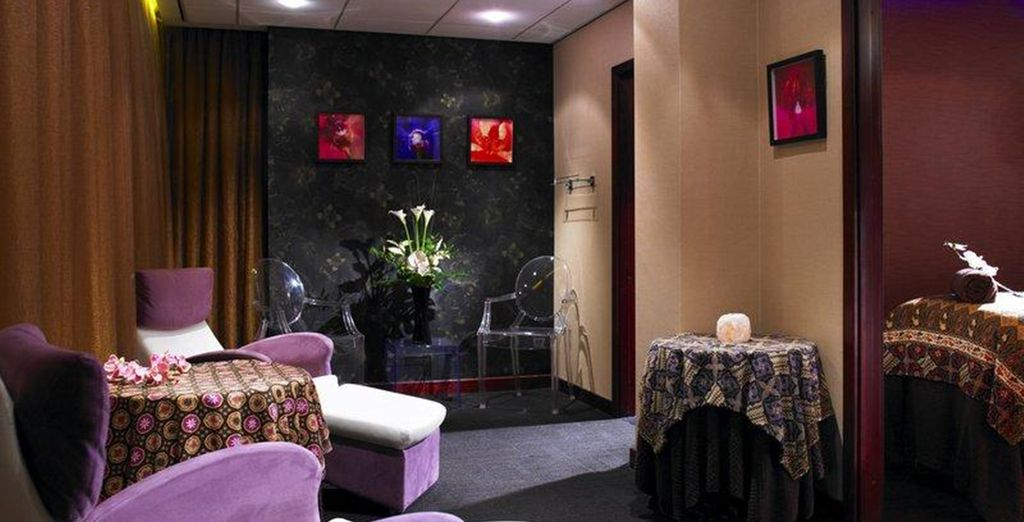 And a beauty treatment in the Orchid Rooms