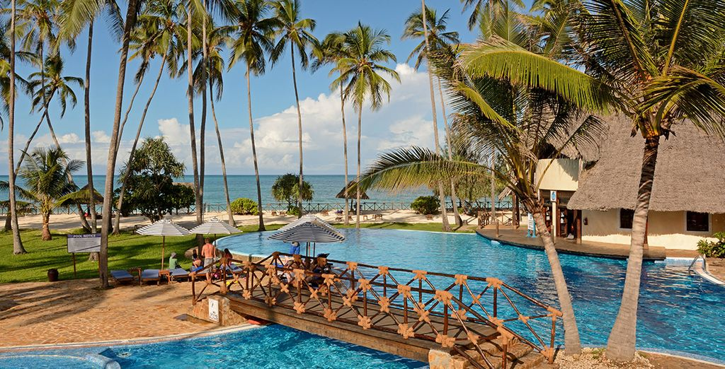 For a 7 or 10 night stay at the Ocean Paradise Beach Resort