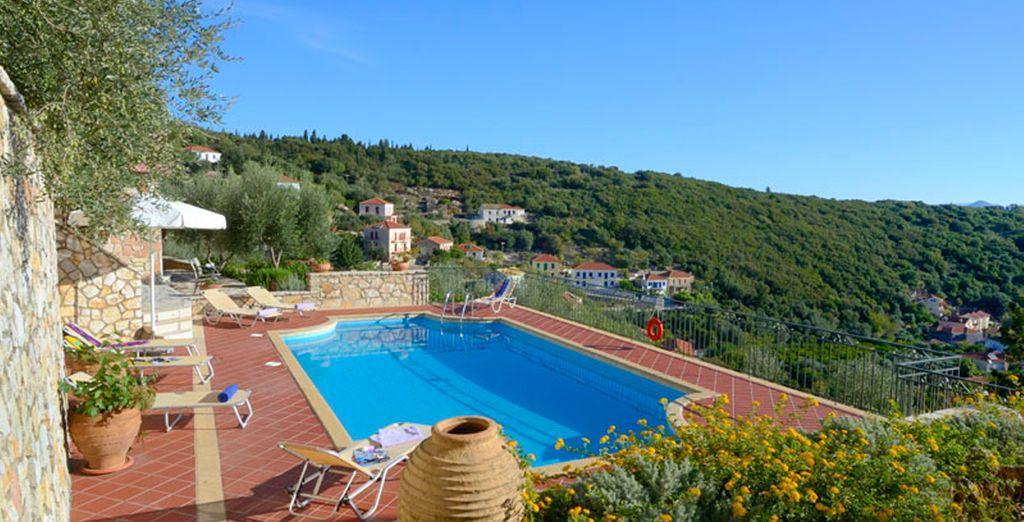 Enjoy a gorgeous swimming pool