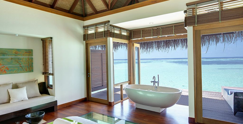 From pampering yourself in the spa