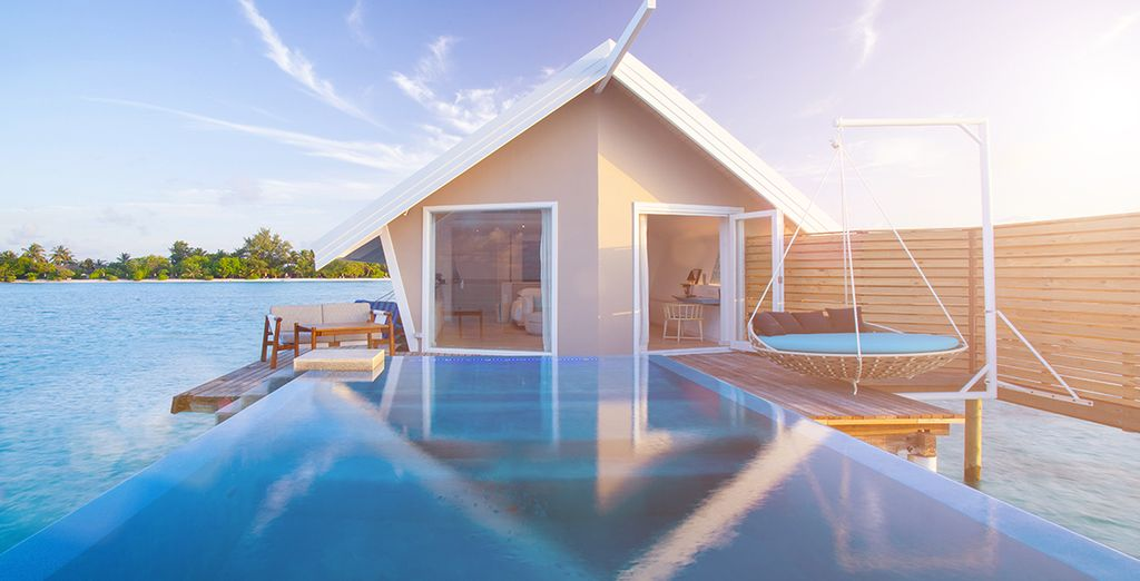 Can you imagine yourself here? - LUX* South Ari Atoll 5* Maldives