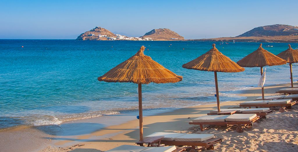 Or lie by the beach and soak up the Greek sunshine